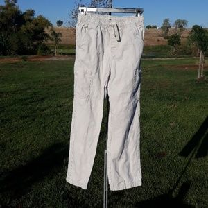 3FOR10 Faded Glory elastice & drawstring pants L